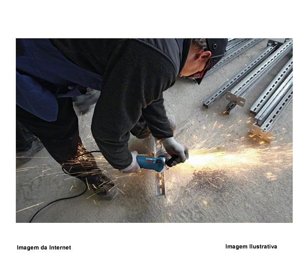 """Esmerilhadeira Angular 5"""" 220v 1100w Gws 11-125 Profissional Bosch  - Rei da Borracha"""