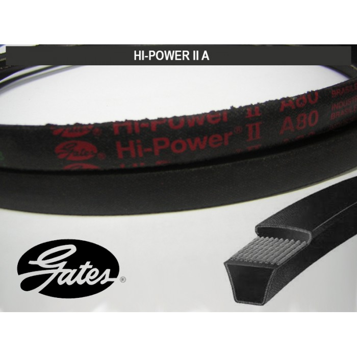 CORREIA  HI-POWER II GATES  - Rei da Borracha