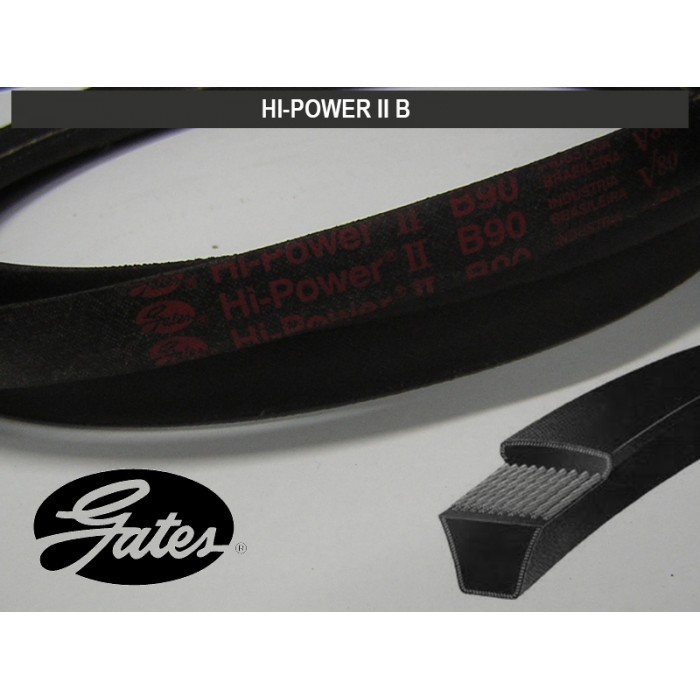 CORREIA HI-POWER II B GATES  - Rei da Borracha