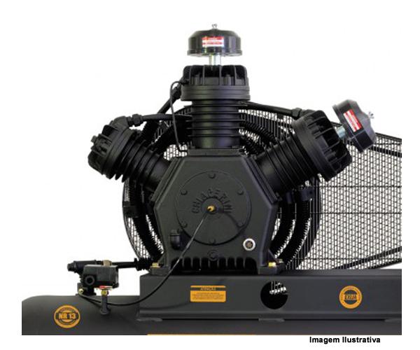 COMPRESSOR AR CJ 60+ AP3V RCH 425L - 15HP  - Rei da Borracha