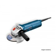 """Esmerilhadeira Angular 5"""" 220v 1100w Gws 11-125 Profissional Bosch"""