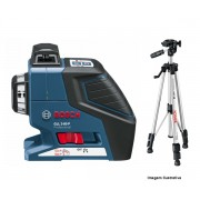 Nível A Laser Gll2-80p + Tripé Bs 150 Bosch