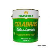 """Cola de Contato Colabras Brascola 2,8kg + Pincel 2"""""""