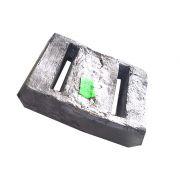 Lastro de Chumbo para Auxilio de Mergulho Peso aproximado da peça 1.85Kg