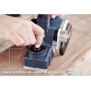 Plaina Elétrica 630w 127v Gho 16-82 D Bosch
