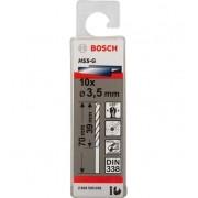 Broca Hss-G Para Aço Rápido 3,5mm Bosch (Unidade)