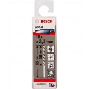 Broca Hss-G Para Aço Rápido 3,2mm Bosch (Unidade)