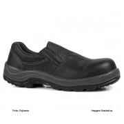 Sapato De Segurança Fujiwara Hls Masculino Preto Sem Cadarço