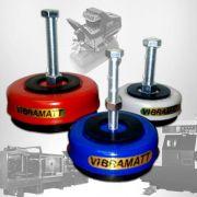 """Amortecedores de Vibração Vibramatt Universal 1/4"""" 6.000kg"""