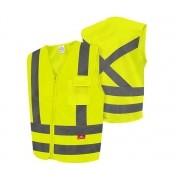 Colete De Alta Visibilidade Amarelo Fluorescente 1 Bolso Steelflex