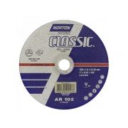 Disco de Corte Norton Classic 180x1,6x22,23mm Duas Telas 25 Unidades