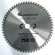 Disco de Serra Circular Com Ponta De Widea Carbografite 300mm x 30mm
