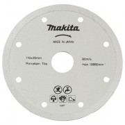 Disco De Corte Diamantado Para Porcelanato B-22919 110mm Makita