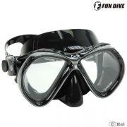 Máscara de Mergulho Siliconada Onix Fun Dive duas lentes