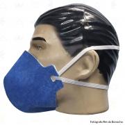 Máscara Respiratória Descartável Classe PFF2 S (N95) Azul Supersafety