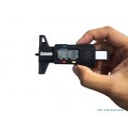 Profundímetro Digital Medidor de Banda de Rodagem R7705003 Schebor