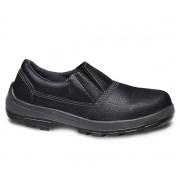 Sapato De Segurança Usafe Usl Masculino Preto Sem Cadarço