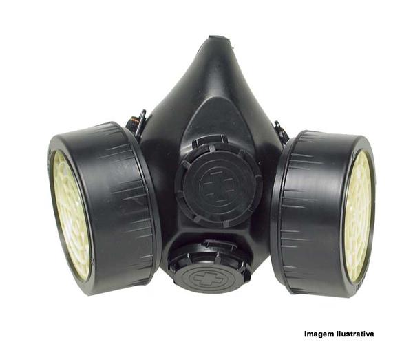 Respirador Semifacial Cg 306 Para Diversas Aplicações Carbografite  - Rei da Borracha