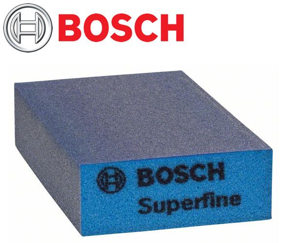 Esponja Abrasiva Lixa Flat And Edge Bosch  - Rei da Borracha