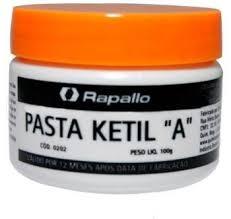 """Pasta Ketil """"A"""" Rapallo - Identifica Presença de Água em Derivados de Petróleo  - Rei da Borracha"""
