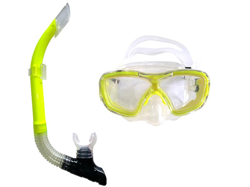 Kit de Mergulho IST Máscara e Snorkel em Silicone  - Rei da Borracha