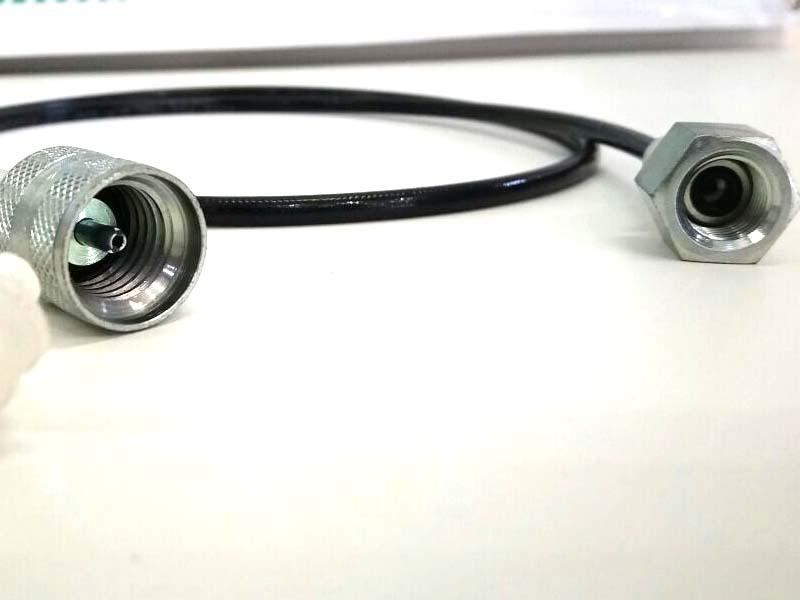 Microtubo Alta Pressão Para Manômetro 1 Metro  - Rei da Borracha