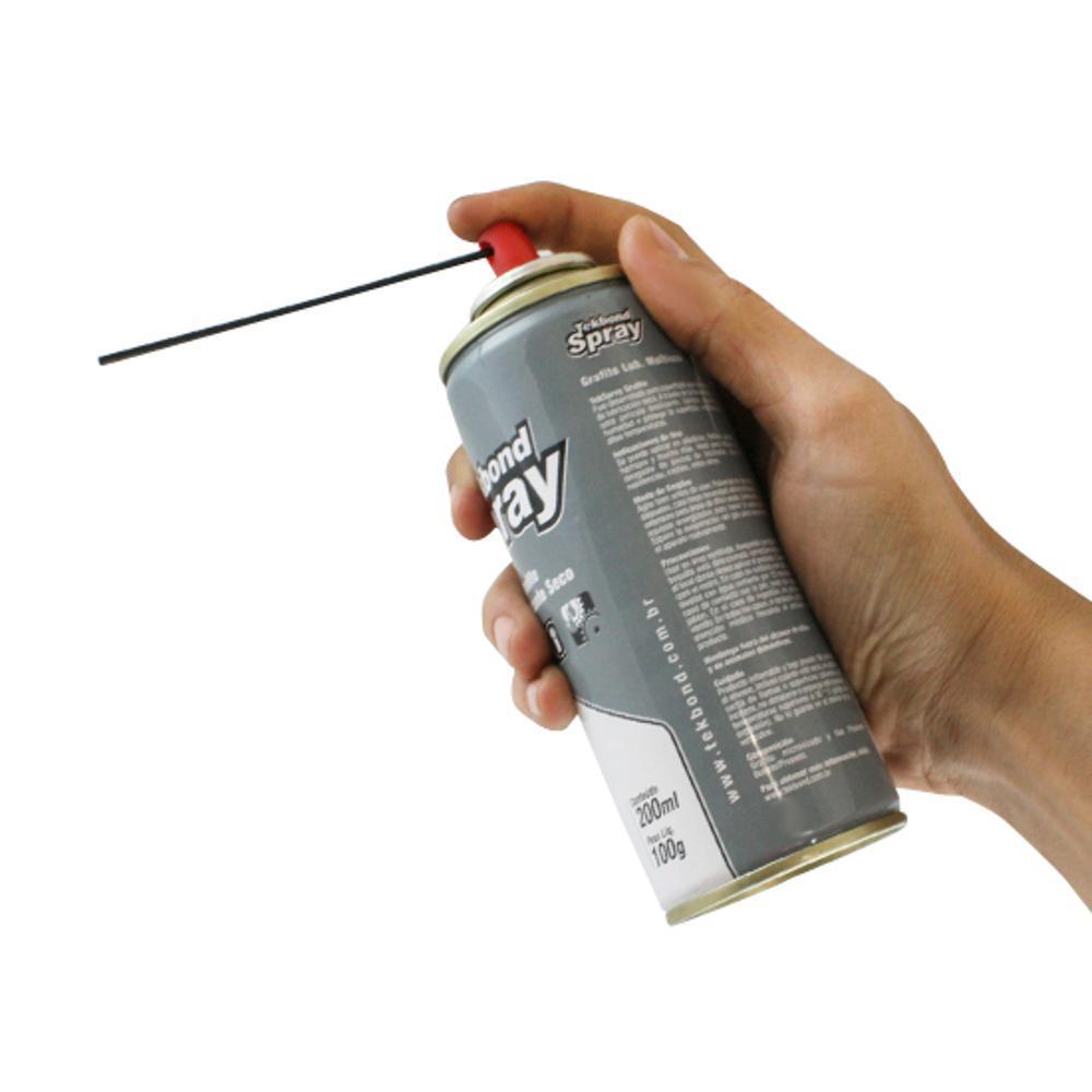 Spray Grafite Lubrificante Seco Tekbond  - Rei da Borracha