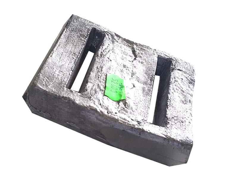 Lastro de Chumbo para Auxilio de Mergulho Peso aproximado da peça 1.85Kg  - Rei da Borracha