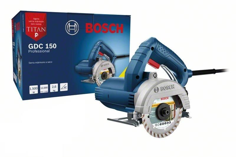 Serra Mármore Titan Gdc 150 Profissional 127v/220v Bosch  - Rei da Borracha