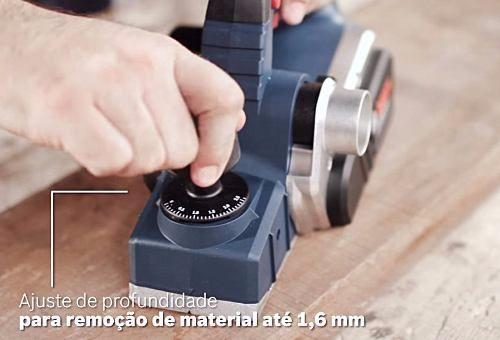 Plaina Elétrica 630w 127v Gho 16-82 D Bosch  - Rei da Borracha
