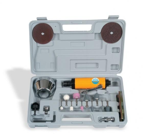 "Retífica Pneumática Chiaperini 1/4"" 20.000 rpm CH R-12K  - Rei da Borracha"
