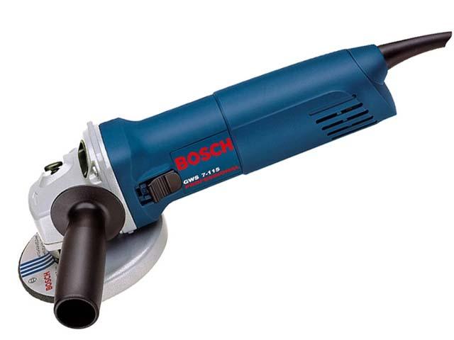 Esmerilhadeira Angular 4.1/2 750w 110v Gws 7-115 Bosch  - Rei da Borracha