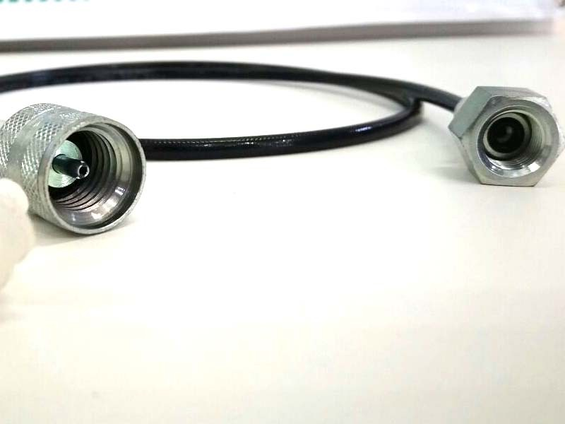 Microtubo Alta Pressão Para Manômetro 1,5 Metro  - Rei da Borracha