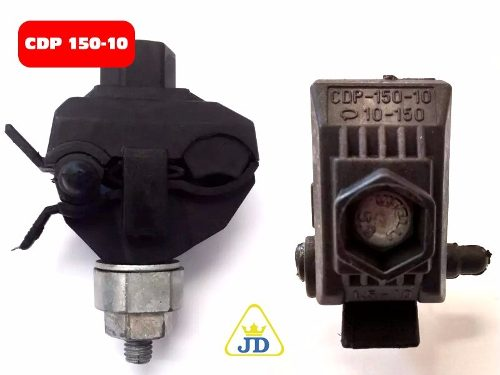 Conector Derivação Perfurante Cdp150 1,5mm A 10mm  - Rei da Borracha