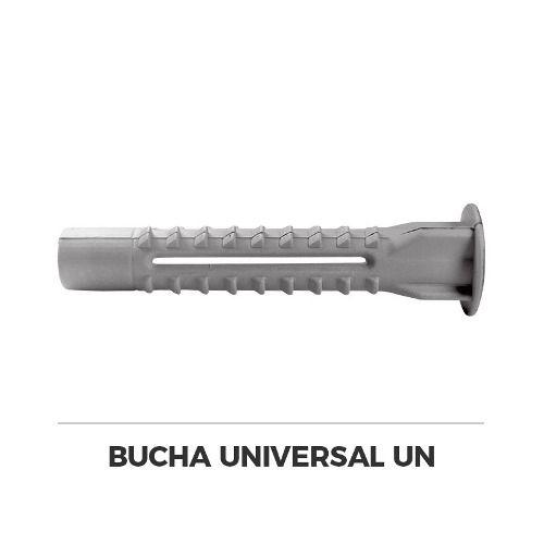Bucha De Nylon Universal Ancora 10mm 450 Unidades  - Rei da Borracha