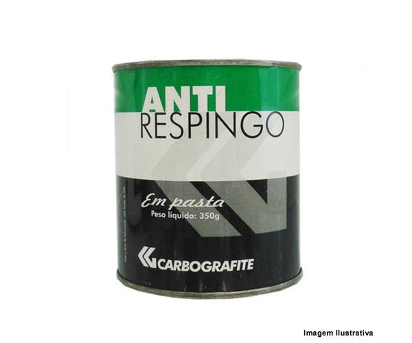 Anti-Respingo em Pasta Carbografite Lata 350Gr  - Rei da Borracha
