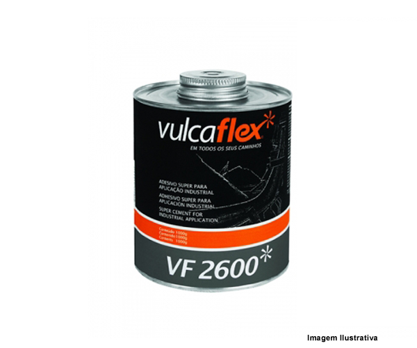 COLA VULCAFLEX VF2600 SUPER 1KG  - Rei da Borracha