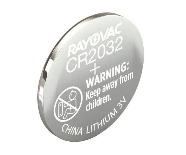 Bateria de Lítio Rayovac 3V Cr2032  - Rei da Borracha