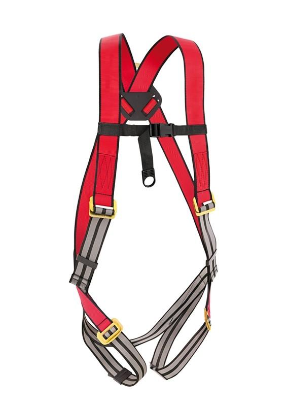 Cinto De Segurança Tipo Paraquedista 1 Ponto de Ancoragem Steelflex  - Rei da Borracha