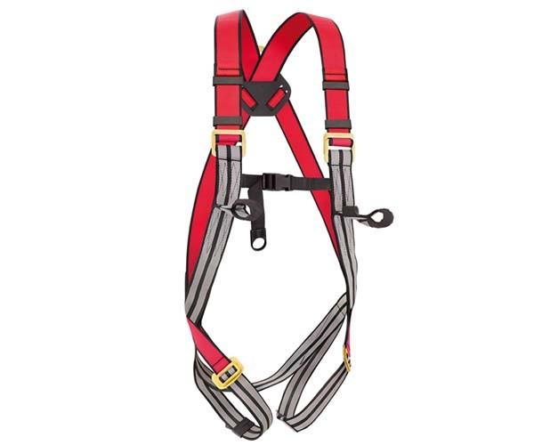 Cinto De Segurança Tipo Paraquedista 2 Pontos de Ancoragem Steelflex  - Rei da Borracha