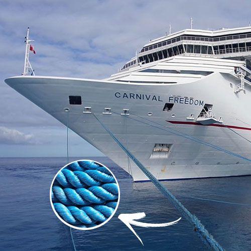 Corda Torcida Para Embarcações 100% Polietileno (Vendido por Kg)  - Rei da Borracha