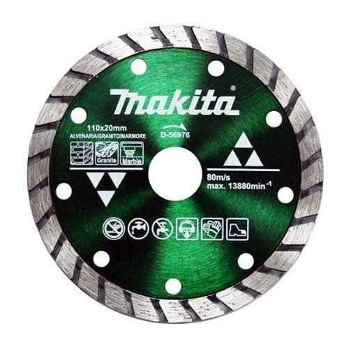 Disco De Corte Diamantado Maxturbo D-56976 110mm Makita  - Rei da Borracha
