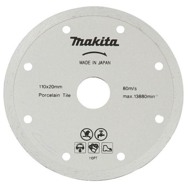 Disco De Corte Diamantado Para Porcelanato B-22919 110mm Makita  - Rei da Borracha
