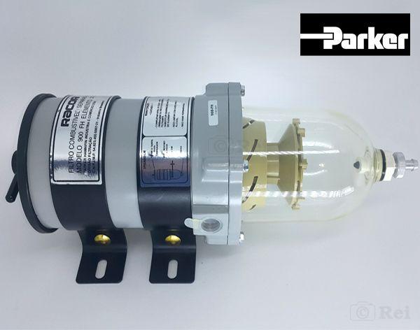 Filtro Racor Para Combustível 900FH Original Parker  - Rei da Borracha
