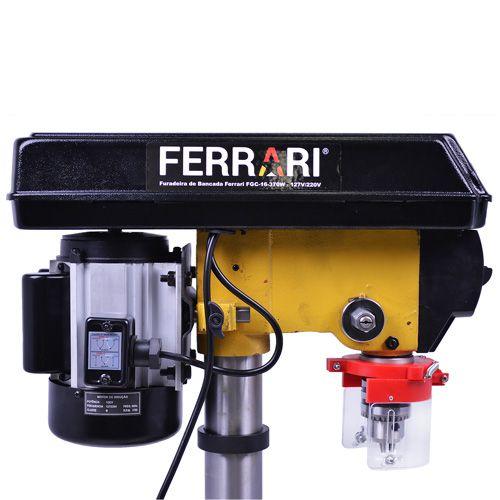 Furadeira Bancada 1/2Cv Motor Blindado Fgc-16 370W Ferrari - Bivolt  - Rei da Borracha