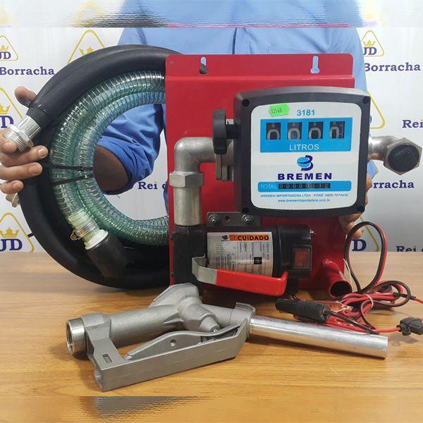 Kit de Abastecimento 12V para Combustível (Óleo Diesel).  - Rei da Borracha
