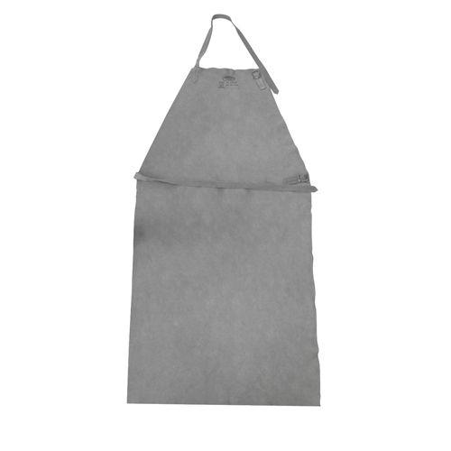 Kit Vestimentas de raspa Para Soldador Luva + Avental + Perneira Com Velcro  - Rei da Borracha