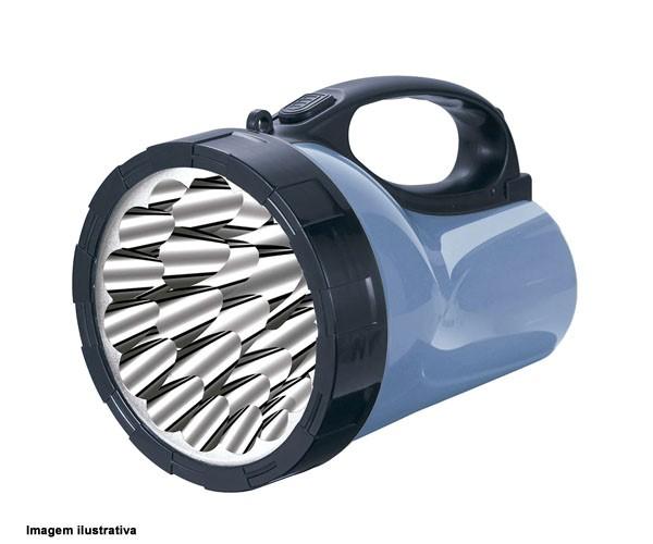 Lanterna De Led Com Brilho Ajustável Recarregável  Yg-3506 Nsbao  - Rei da Borracha