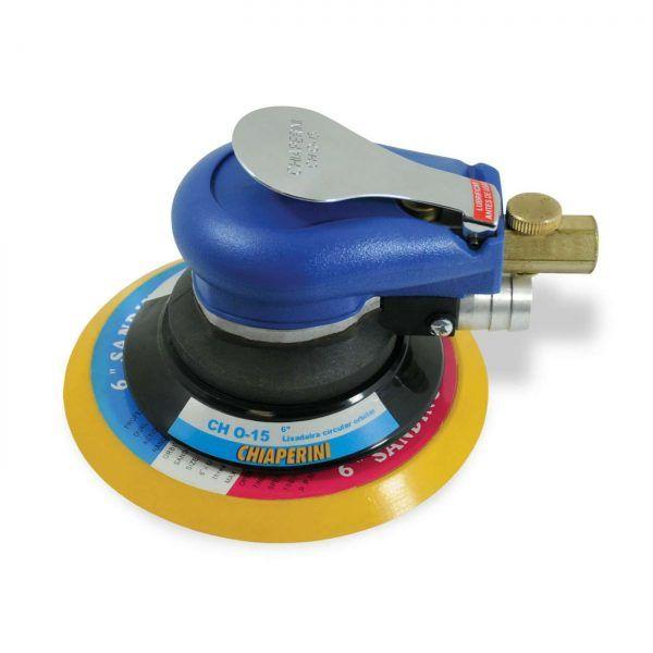 Lixadeira Roto Orbital Pneumática Hokit Chiaperini CH 0-15  - Rei da Borracha
