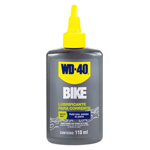 Lubrificante Para Corrente WD-40 Bike DRY 110ml   - Rei da Borracha